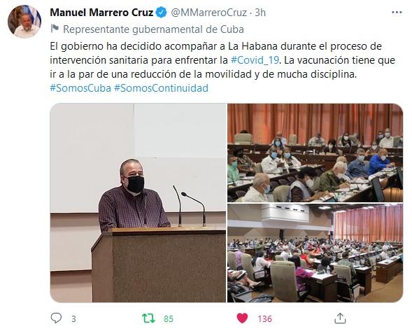 A trabajar no solo por La Habana, sino por Cuba