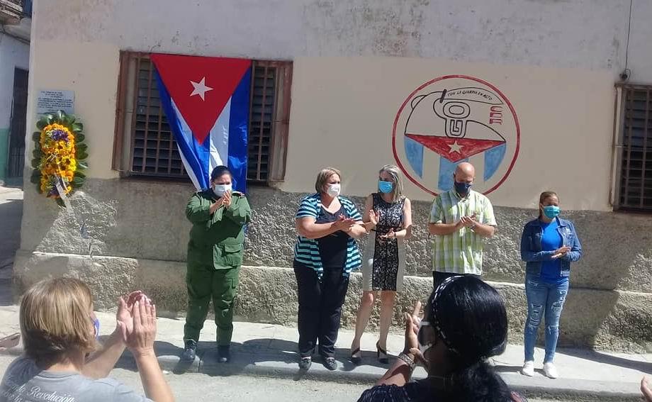 La Habana rinde homenaje al primer mártir de los CDR