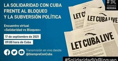 Héroe cubano califica de hipócrita política de bloqueo contra Cuba (+Video)