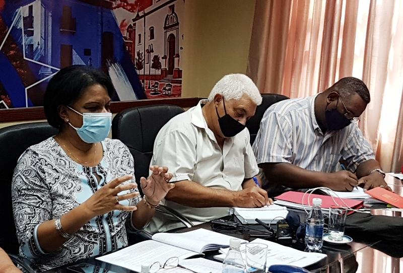 Chequea Viceprimera Ministra Inés María Chapman programas con prioridad en Camagüey (+Audio)