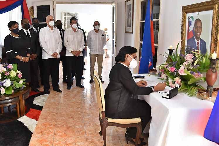 Cuba extiende solidaridad a Haití y condena asesinato de Moise