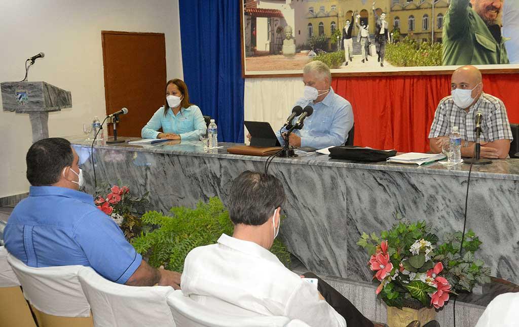 Intercambio en Nueva Gerona sobre proceso de continuidad del 8vo. Congreso
