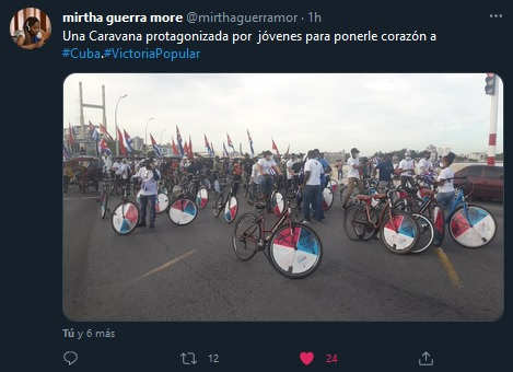 Ponle Corazón, jóvenes cubanos conmemoran jornada de victoria popular
