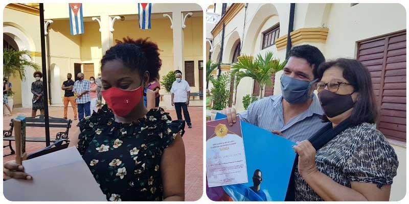 Unión Nacional de Juristas reconoce a jóvenes profesionales de Camagüey