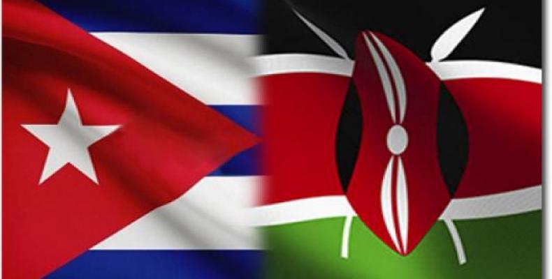 Sostuvo Díaz-Canel fraternal encuentro con Ministro de Salud de Kenya