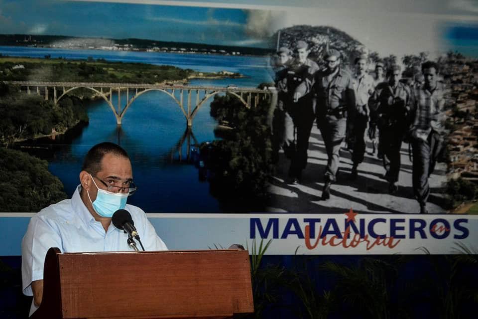 Liván Izquierdo Alonso, Primer Secretario del PCC en Matanzas