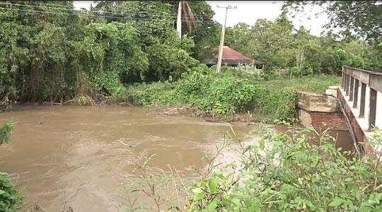 Atentos a presas y cauces de ríos