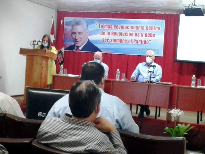Maridé Fernández López, Primera Secretaria del Partido en la provincia