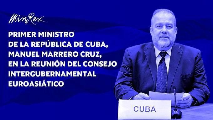 Participó Cuba en Consejo Intergubernamental Euroasiático