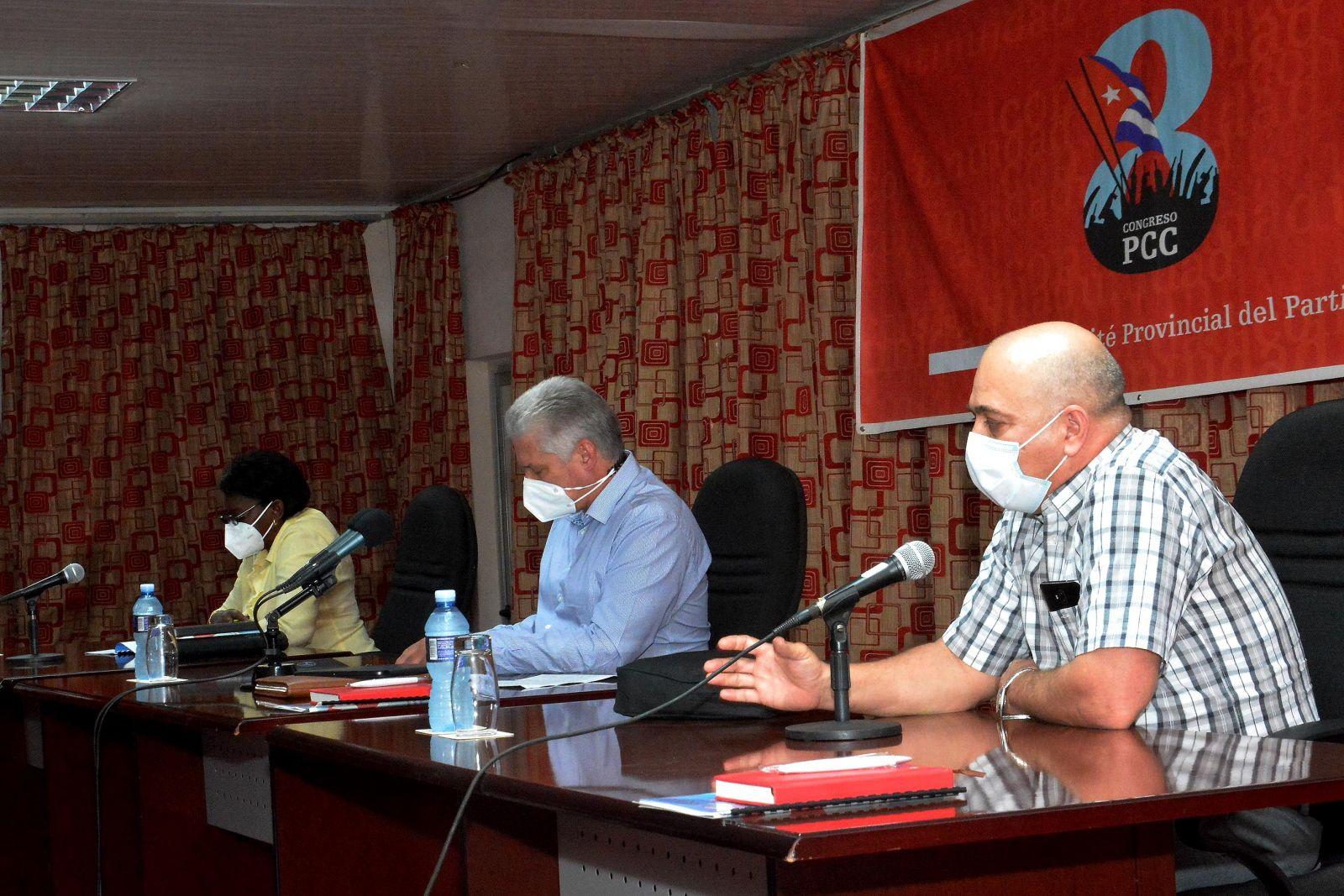 Mayabeque a tiempo del 8vo. Congreso del Partido (+Audio)