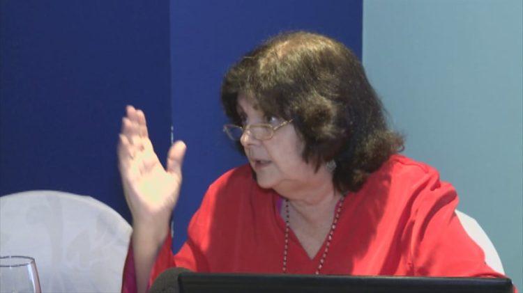 Dra. en Ciencias Psicológicas Mayda Álvarez Suárez, Directora del Centro de Estudios de la Mujer de la Federación de Mujeres Cubanas.