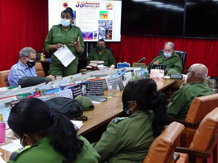 En Audio: Actualiza Santiago de Cuba planes de reducción del riesgo