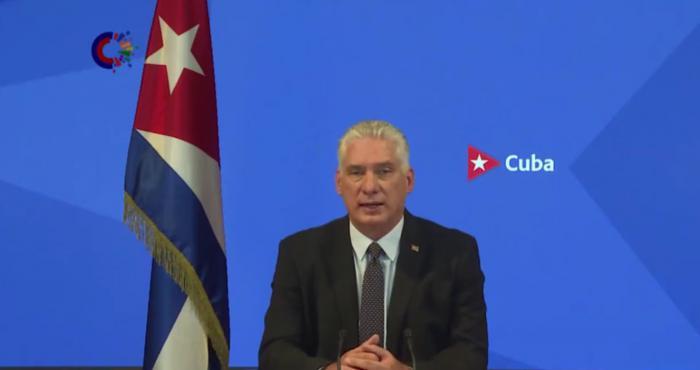 Expresa Díaz-Canel en la ONU compromiso de Cuba en la lucha contra el racismo (+ Audio)