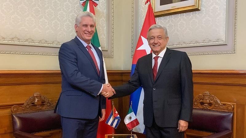 Díaz-Canel: Constituye un honor servir a México