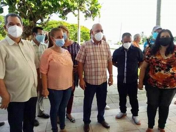 Recorrió Roberto Morales Ojeda barrios de Cienfuegos (+Audio)