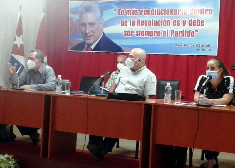 Roberto Morales Ojeda evaluó en Cienfuegos cumplimiento de acuerdos del VIII Congreso del PCC (+Audio)