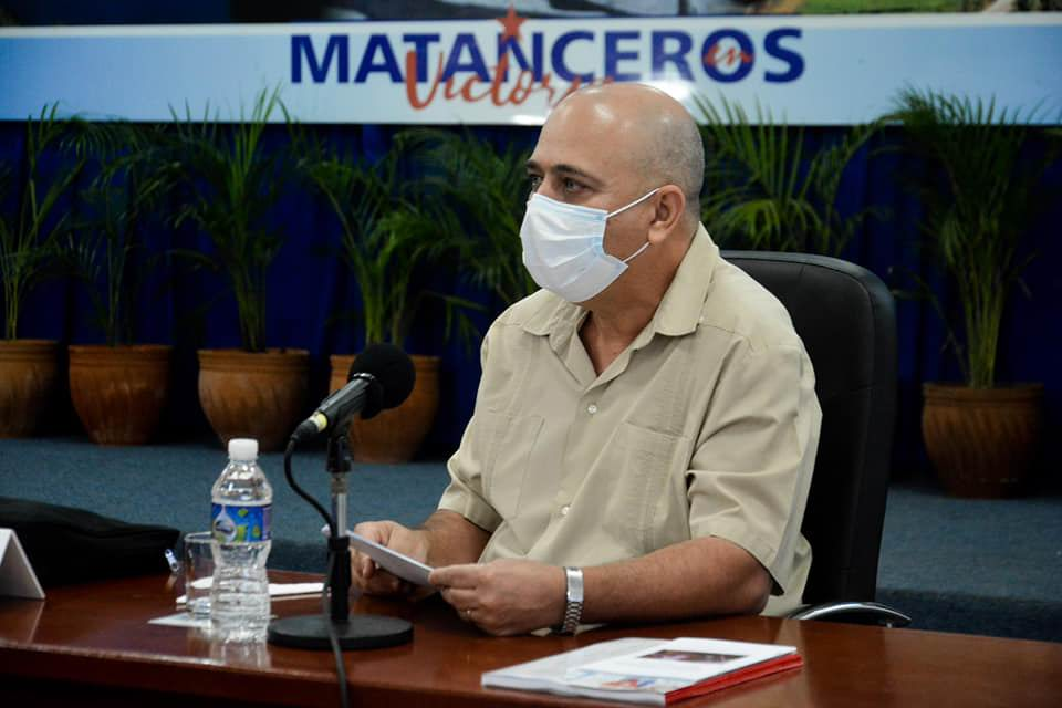 Roberto Morales Ojeda, miembro del Buro Político y secretario de Organizacion y Política de Cuadros del Comité Central.