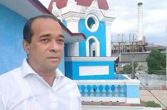 Fernando Rodríguez Rosales, primer secretario del comité municipal del Partido Comunista de Cuba.