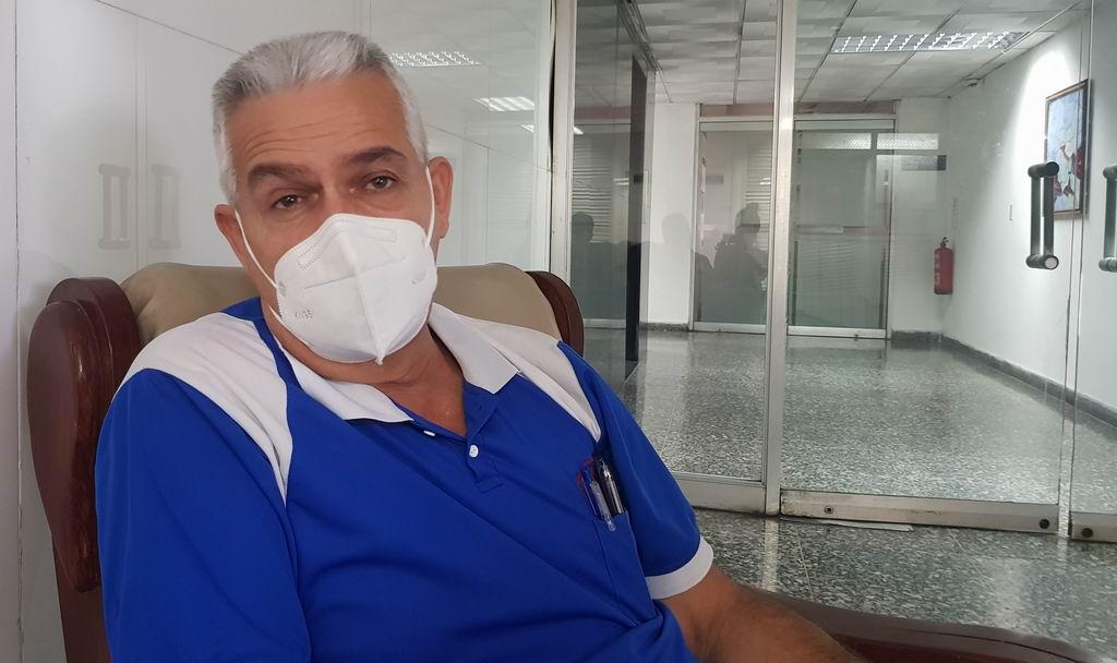 Orestes Yanes Mestre, coordinador provincial del gobierno en la capital