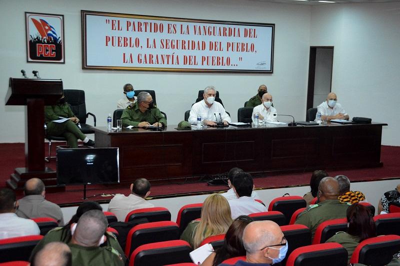 Asiste Díaz-Canel a Pleno Extraordinario del Partido en La Habana (+Audio)