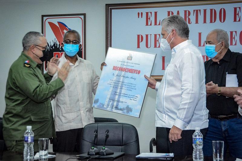 Asiste Miguel Díaz-Canel a Pleno Extraordinario del Comité Provincial del Partido en La Habana