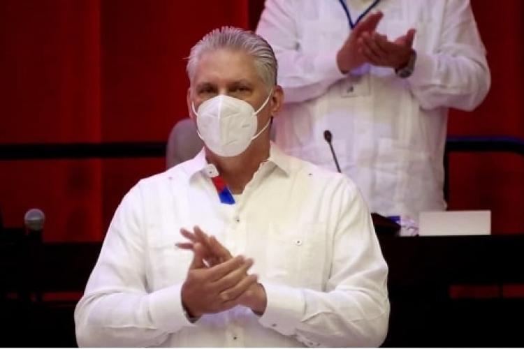 Electo Miguel Díaz-Canel Bermúdez, Primer Secretario del Comité Central del Partido