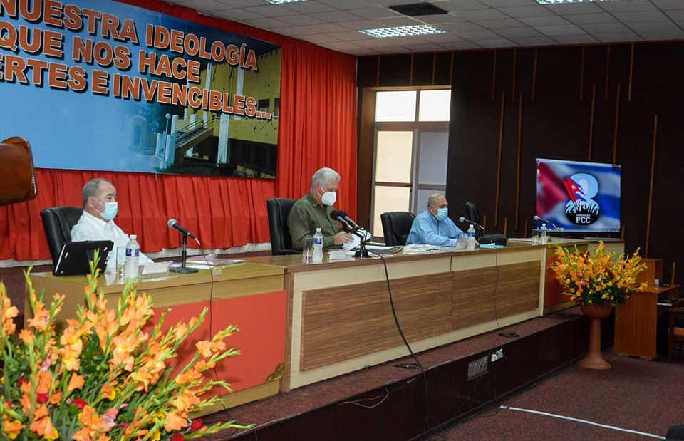 En Santiago de Cuba continúa ciclo de reuniones de continuidad al 8vo. Congreso del PCC (+Audio)