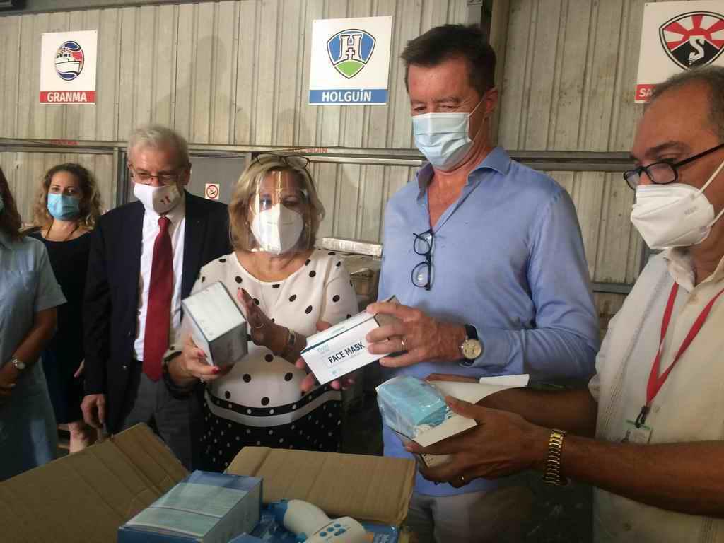 Continúan los donativos a Cuba para enfrentar el COVID-19