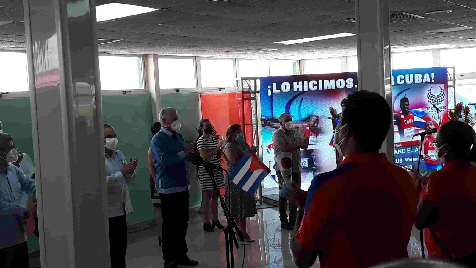 En la Patria delegación paralímpica cubana (+Audio)