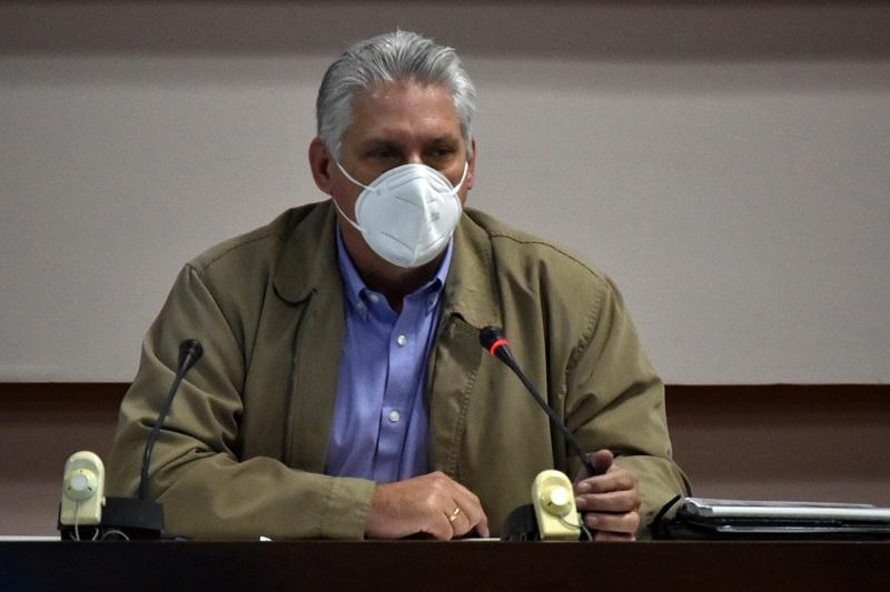 """Díaz-Canel: """"Echar la pelea a la altura de lo que necesita el país"""""""