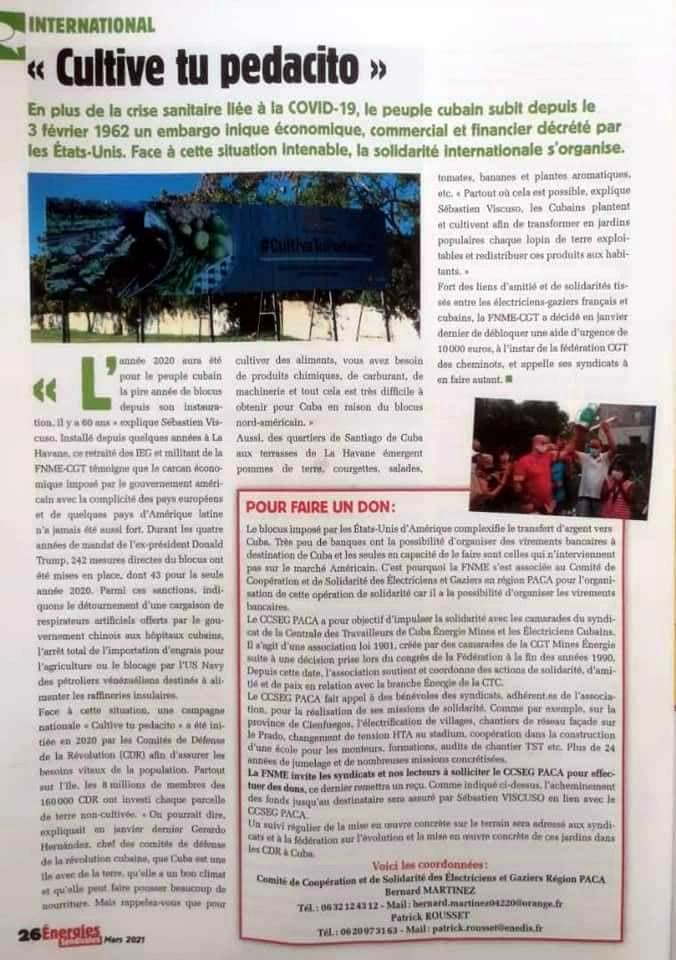 número 199 de la revista Energies Sindicales