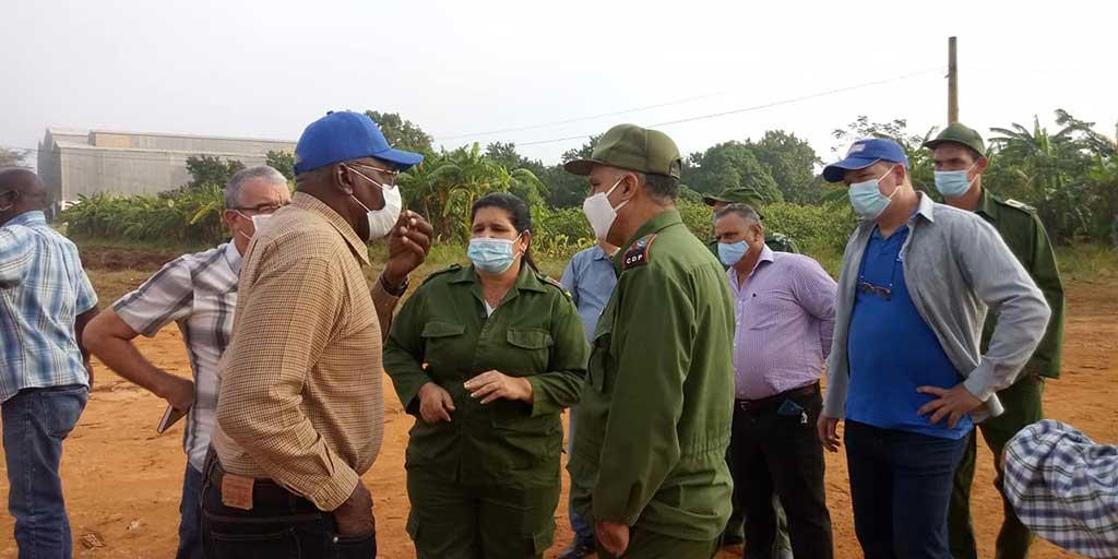 Artemisa: Llama vicepresidente cubano a ser más eficientes y ahorrativos
