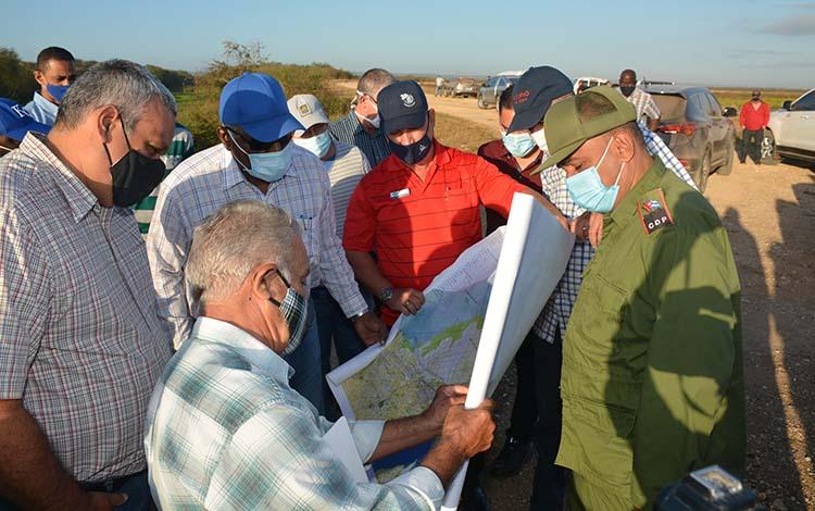 Analizó vicepresidente cubano marcha de la producción de alimentos en Villa Clara