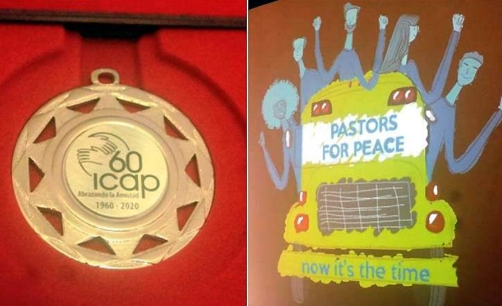 Entrega el ICAP sello conmemorativo a Pastores por la Paz de Estados Unidos