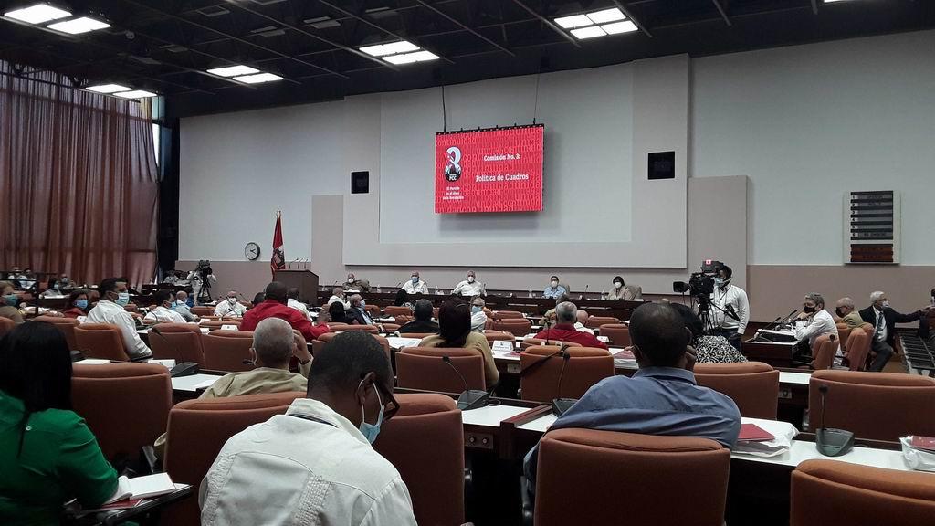 Continúan sesiones del 8vo. Congreso del Partido con trabajos en Comisiones (+Video)