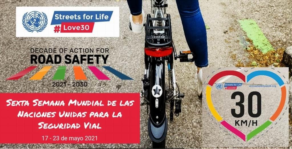 Comienza la VI Semana Mundial de la Seguridad Vial