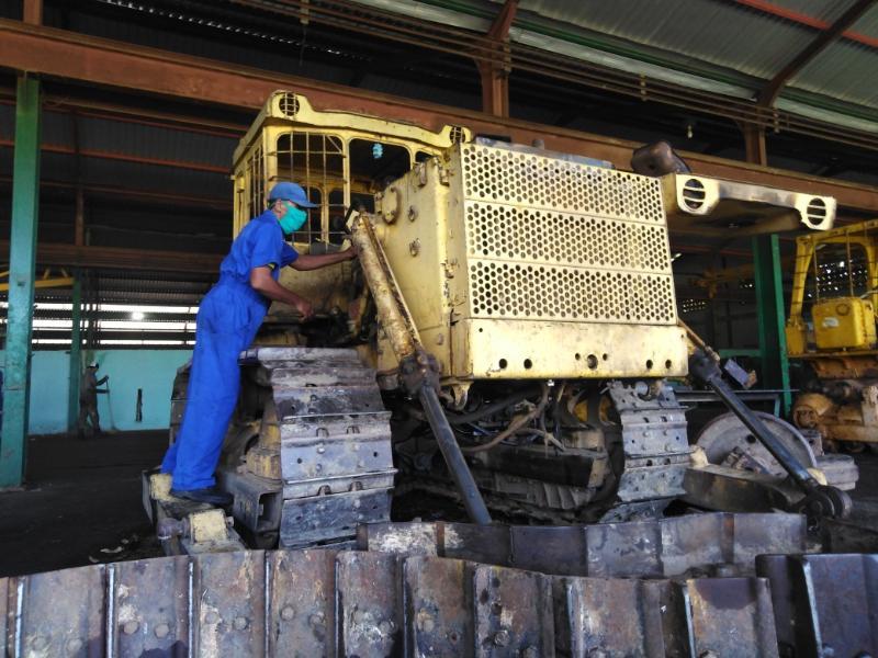 El Bloqueo se estrella contra el caudal de los trabajadores de talleres 14 de junio