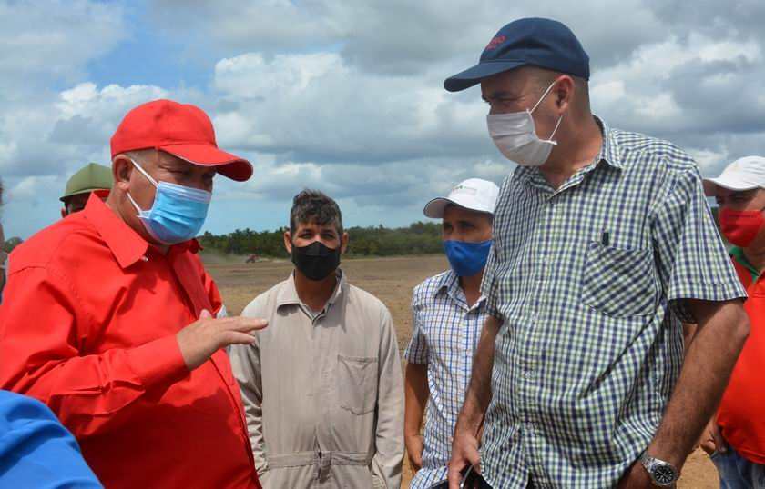 Llama viceprimer ministro cubano a consolidar producción de alimentos en Isla de la Juventud