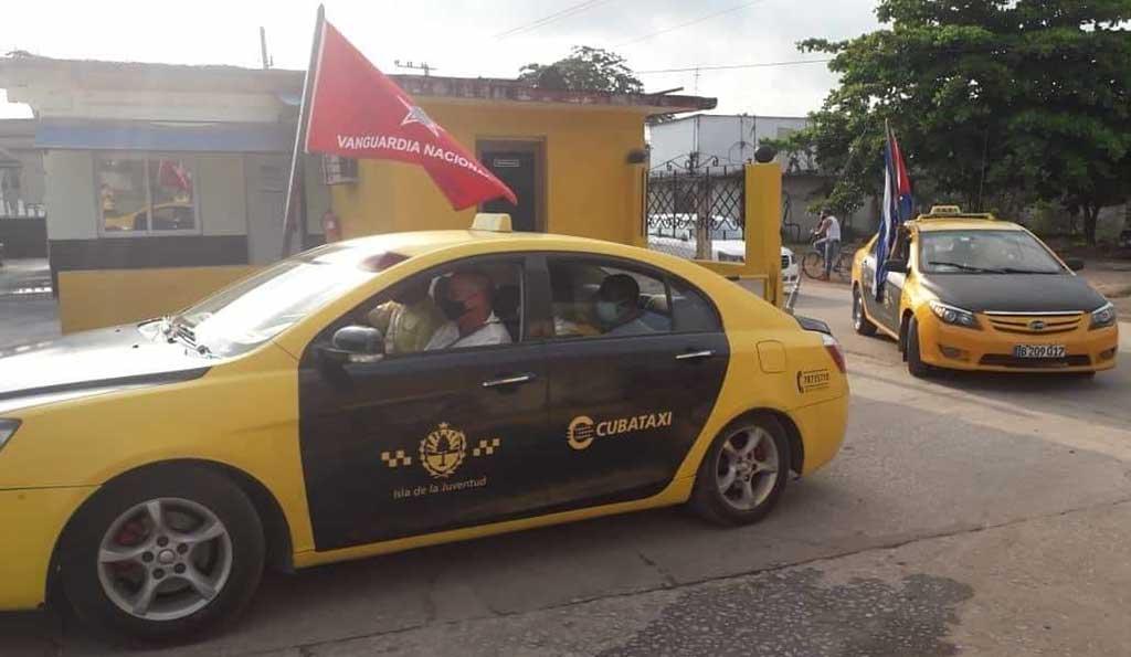 Taxis-Isla, un servicio para el pueblo