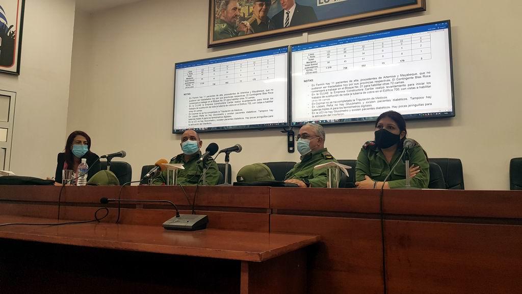 Profesionales de toda Cuba se suman al combate contra la Covid-19 en La Habana