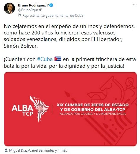 Se inició en Caracas XIX Cumbre de Jefes de Estado y Gobierno del ALBA-TCP