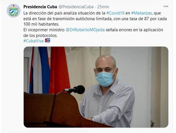 Encabeza Díaz-Canel intercambio gubernamental en Matanzas
