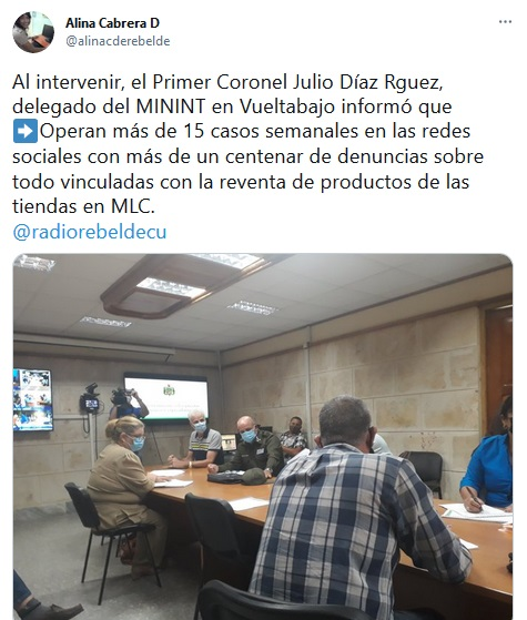 El vicepresidente de la República de Cuba, Salvador Valdés Mesa, chequea en Pinar del Río temas relacionados con la implementación de la Tarea Ordenamiento