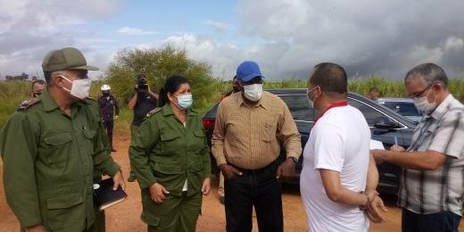 En Audio: Chequea Valdés Mesa marcha de zafra y producción de alimentos en Artemisa