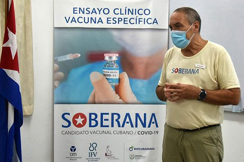 Mesa Redonda: Historia de vida del Dr. Vicente Vérez Bencomo, líder de Soberana 02