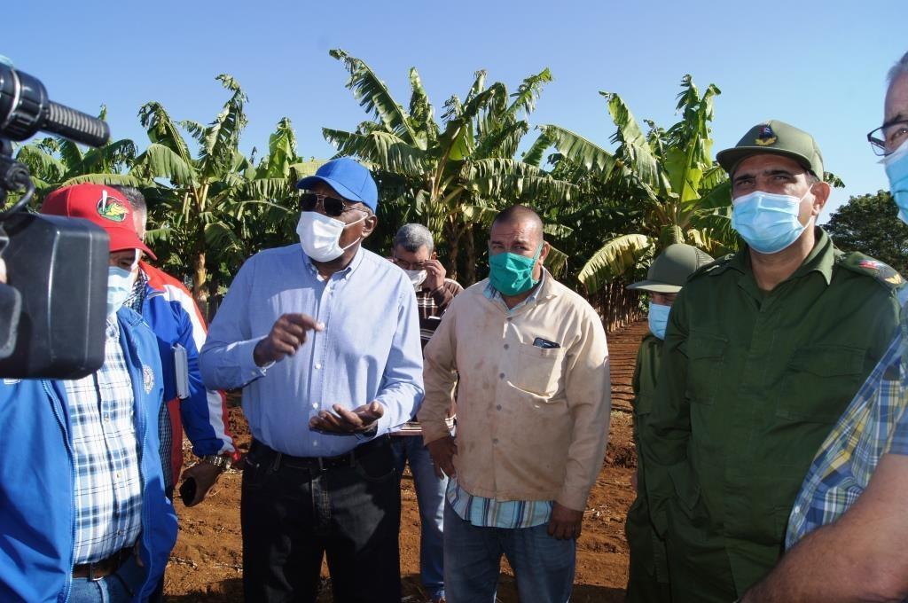 Visita vicepresidente cubano sector azucarero y agrícola matanceros