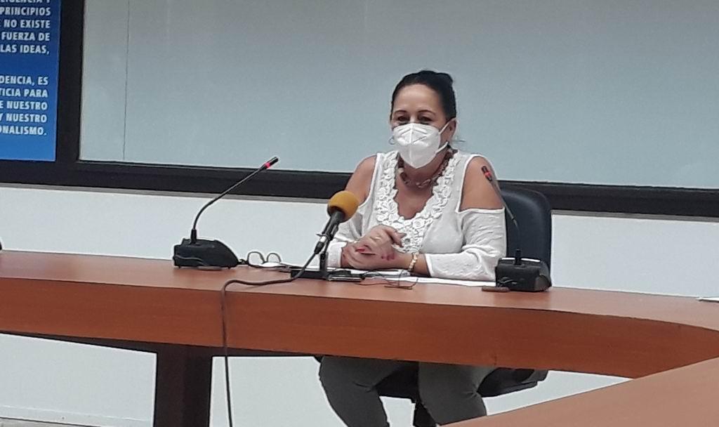 Vivian Rodríguez Salazar, Directora General de la Vivienda del Ministerio de la Construcción.