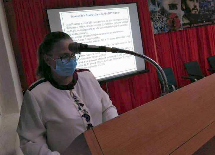 Directora Provincial de Salud en Las Tunas Viviana González