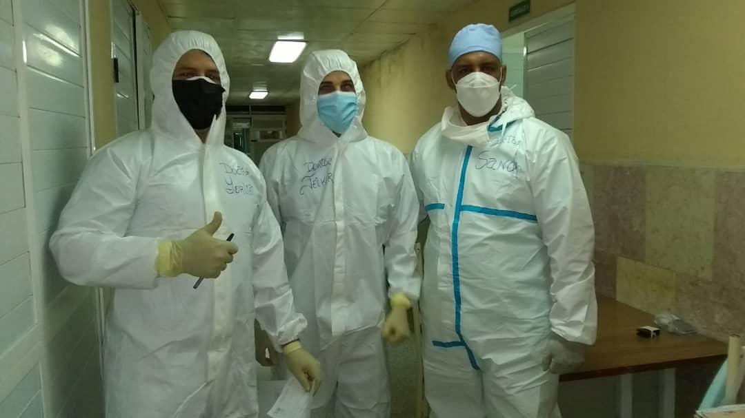 A Sandro Roberto Catalá en Zona Roja agradecen salvar vidas de la COVID (+Audio)