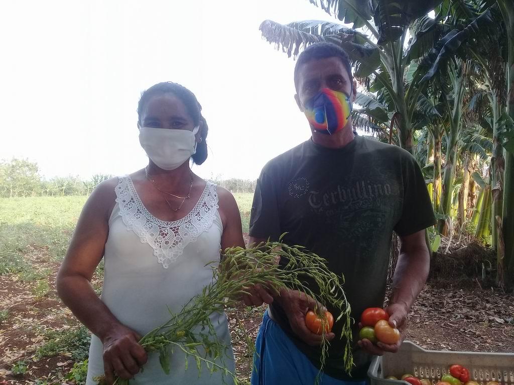 Marilín ha dedicado veinte años de su vida al trabajo en la agricultura